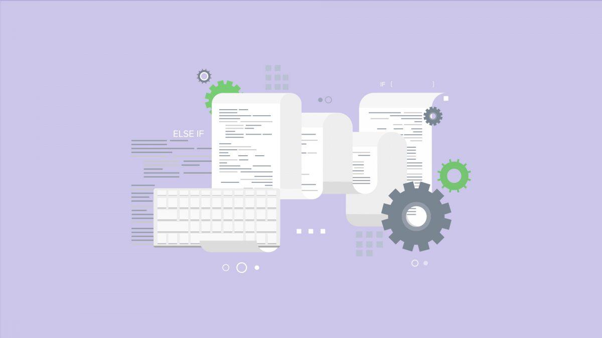 Tastatur und Papierdokument