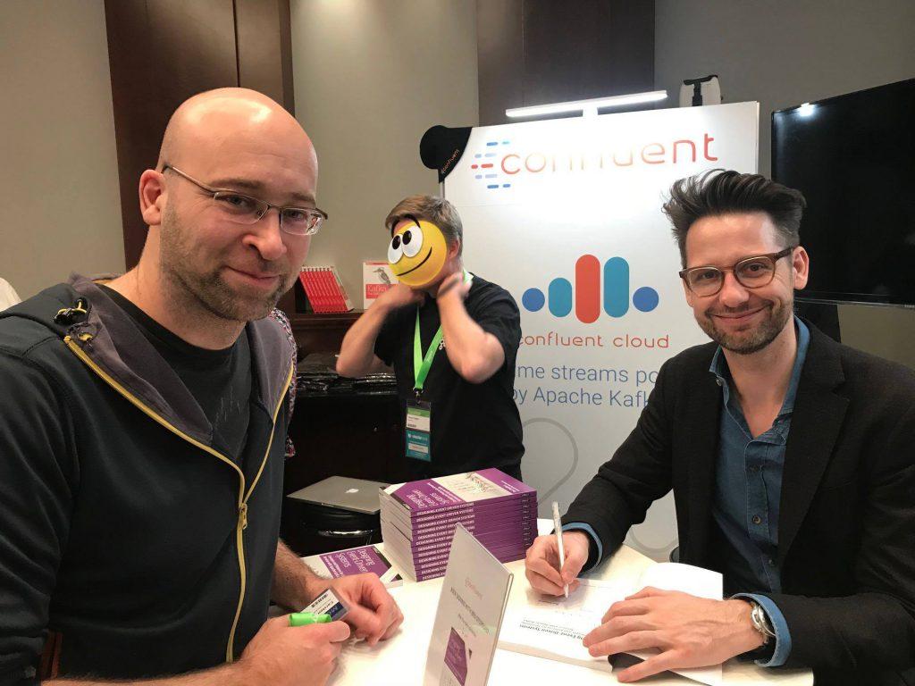 Autogrammstunde auf der Software-Konferenz W-Jax