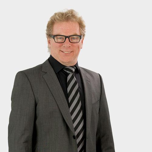 Portrait Geschäftsführer John O'Connor