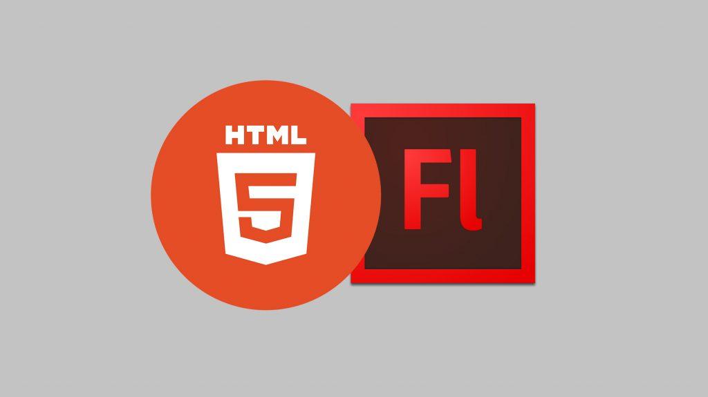Logo HTML, Flash