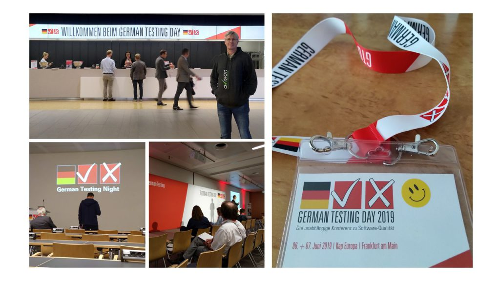 Collage German Testing Day 2019