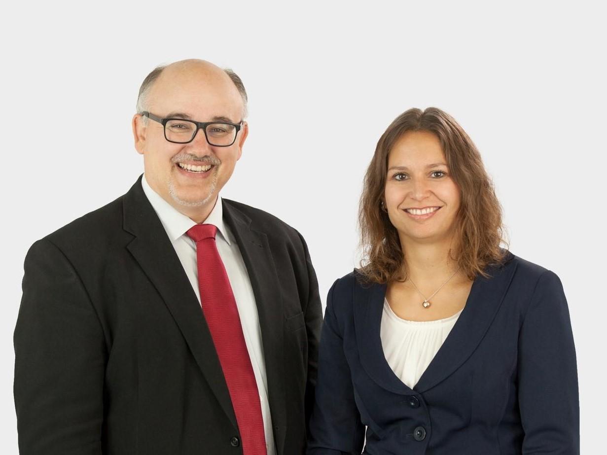 Nadine Riederer und Jürgen Bernert