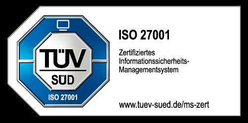 TÜV-Logo; Zertifzierung